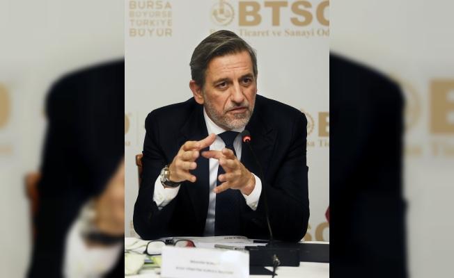 """BTSO Başkanı Burkay: """"Reform ve iyileştirmelerle işsizlik daha da düşecek"""""""