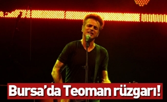 Bursa Festivali'nin finaline Teoman damgası