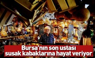 Bursa'nın son ustası, susak kabaklarına hayat veriyor