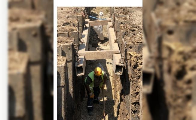 Kumsaz'ın altyapısı BUSKİ ile yenileniyor