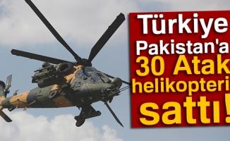 Pakistan'a 30 Atak helikopteri satılıyor!