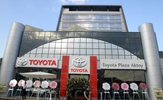 Toyota'nın çevre dostu en yeni plazası Avcılar'da açıldı