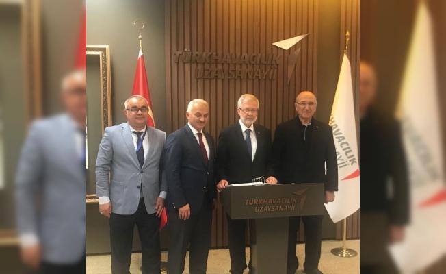 Uludağ Üniversitesi'nden TUSAŞ yöneticilerine iş birliği ziyareti