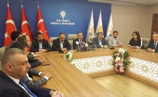 """AK Parti İl Başkanı Salman: """"Birlik ve beraberlikle aşamayacağımız sıkıntı yok"""""""