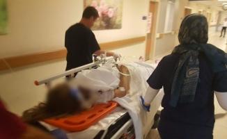 Araçtan fırlayan kadın sürücü hayata 4 gün tutunabildi