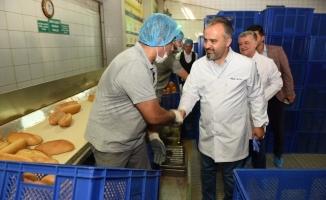 Bayramda Bursa'nın ekmeği hazır