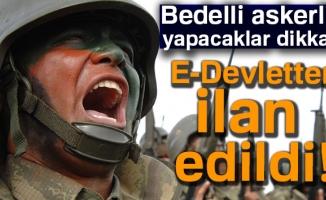 Bedelli Askerlik E-Devlet celp yeri sorgulama|Bedelli Askerlik ilk cep yerleri açıklandı