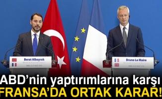 Hazine ve Maliye Bakanı Albayrak: 'ABD tarafından atılan adımlar kendisini yalnızlaştırıyor'