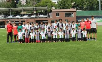 Kafkasspor,Beşiktaş'ın konuğu oldu