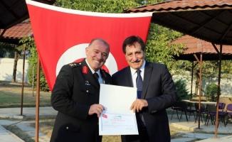 Tümgeneral Hacıoğlu Erzurum'a uğurlandı