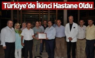 Türkiye'de İkinci Hastane Oldu