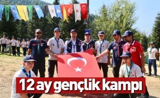 Uludağ'ın eteklerine 12 ay gençlik kampı inşa ediliyor