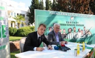Bursaspor Ertuğrul Ersoy ile sözleşme uzattı