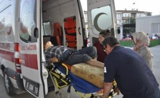 Dal Kırılınca Düşüp Yaralandı