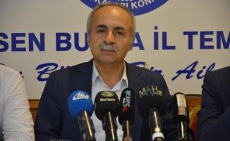 Eğitim-Bir-Sen Bursa Şube Başkanı Mustafa Sarıgül: