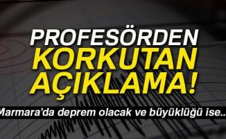 Prof. Dr. Mehmet Sakınç: 'Marmara'da deprem olacak büyüklüğü ise...'