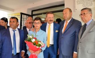 Tarım Lisesi'ni Hisarcıklıoğlu açtı