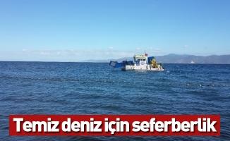 Temiz deniz için seferberlik