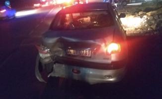 Şehitler kavşağında kaza; 1 yaralı