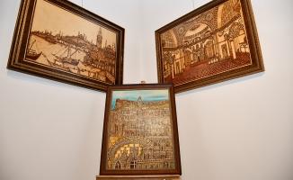 Ahşap Yakma Sanatı Sergisi Kent Müzesinde Açıldı