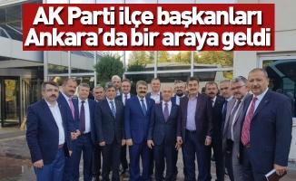 AK Parti ilçe başkanları Ankara'da bir araya geldi