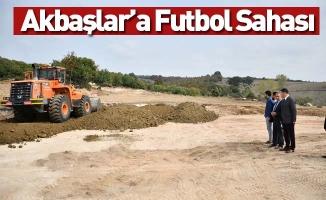 Akbaşlar'a Futbol Sahası