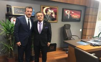 Başkan Çelik yatırımlar için Ankara'da