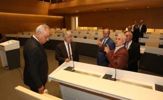 DSP Genel Başkanı Aksakal'dan Başkan Bozbey'e ziyaret