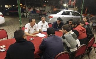 Jandarmadan balıkçılara seminer