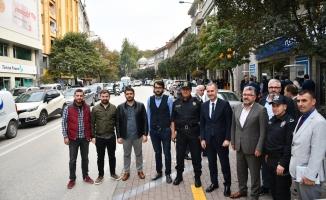 Nuri Doğrul Caddesinde Yatay Parklanma Uygulaması Başladı