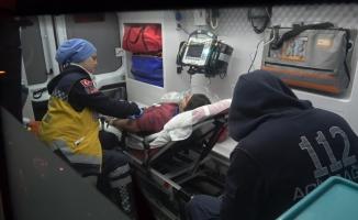 Ağlayan çocuk ailesini ölümden kurtardı
