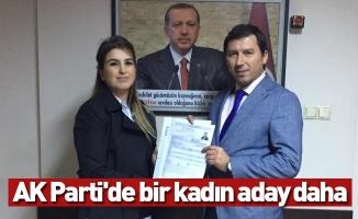 AK Parti'de bir kadın aday daha