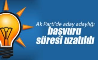 AK Parti'de adaylık başvurusu 16 Kasım'a uzatıldı