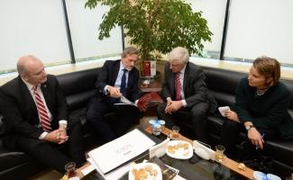 """Başkonsolos Reiffenstuel: """"Ekonomisi güçlü bir Türkiye Almanya'nın lehine"""""""