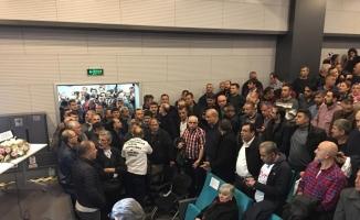 Bursa'da EYT izdihamı