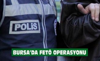 Bursa'da FETÖ operasyonu 33 kişi gözaltında