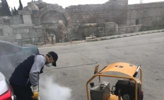 Bursa'da haşereyle kış mücadelesi