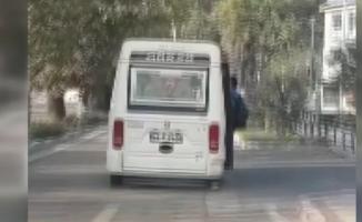 Bursa'da ölümüne yolculuk kameralara yansıdı