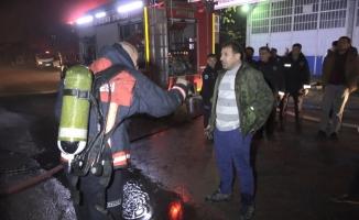 Çalan alarm yangının faciaya dönüşmesini önledi