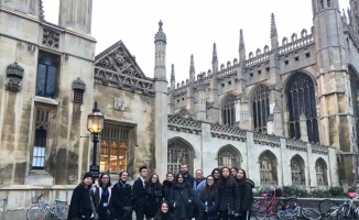 Cambridge MUN'daki tek lise Bursa'dan