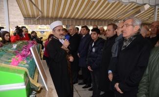 İşadamı Kemal Türkün son yolculuğuna uğurlandı