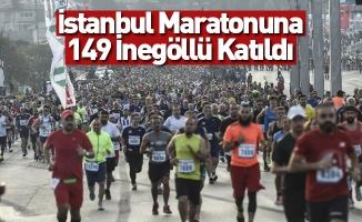 İstanbul Maratonuna 149 İnegöllü Katıldı