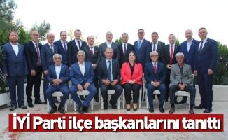 İYİ Parti ilçe başkanlarını tanıttı