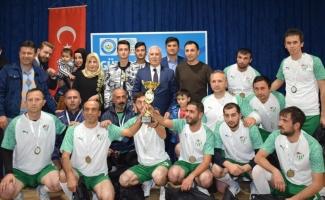 Nilüfer Belediyesi çalışanları futbol turnuvasında ter döktü