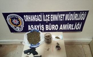 Orhangazi'de uyuşturucu baskını