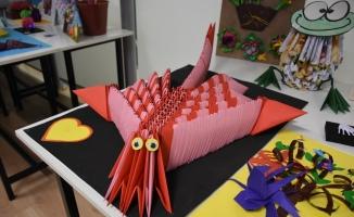 Origami yarışmasında ödüller sahiplerini buldu