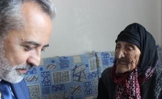 Aile Müdürü hatırını sormak için evine gittiği kadının 118 yaşında olduğunu öğrenince kulaklarına inanamadı