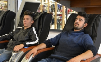 Masaj koltuğunda felç kalabilirsiniz