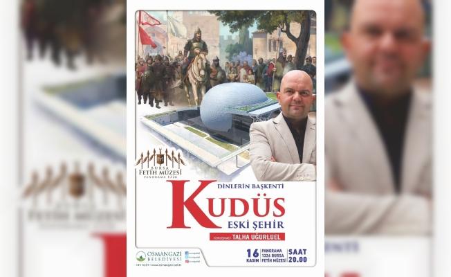 Talha Uğurluel, Fetih Müzesi'nde Kudüs'ü anlatacak
