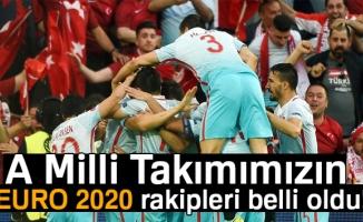 A Milli Takımımızın EURO 2020 rakipleri belli oldu!